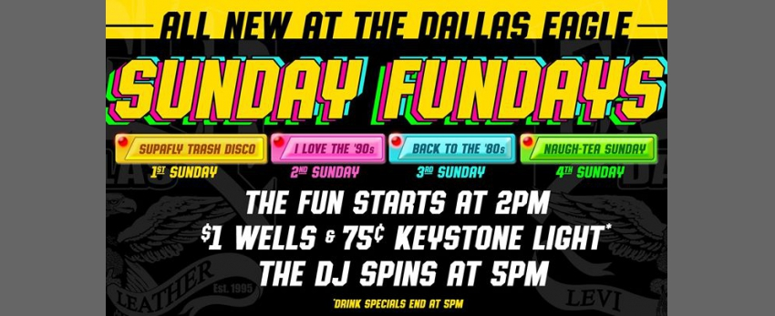 Sunday Funday at the Dallas Eagle