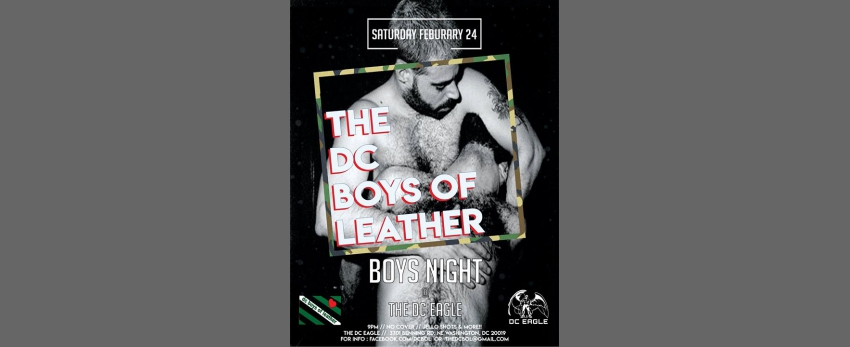 DC Boys of Leather Club Bar Night
