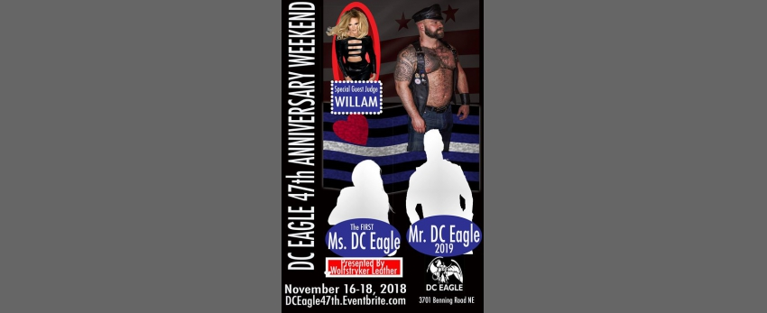 DC Eagle Anniversary Weekend Featuring Willam