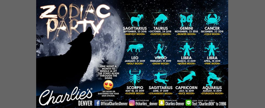 Zodiac Party: Ready to Mingle