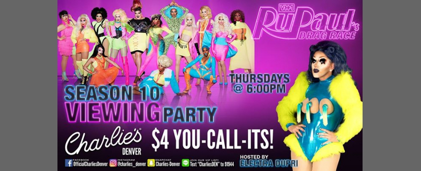 RuPauls Viewing Party: Season 10