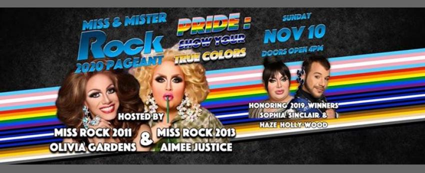 2020 Miss & Mister Rock Phoenix Pride Pageant