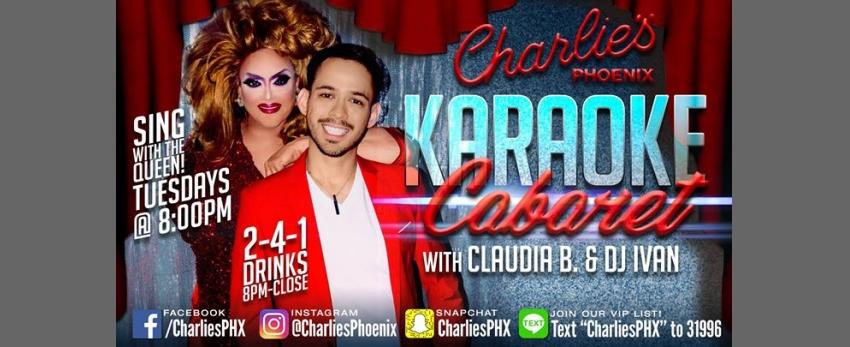 Karaoke Cabaret with Claudia B. & Ivan