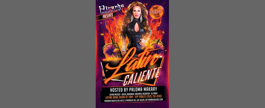 Caliente Saturday Hosted by Paloma