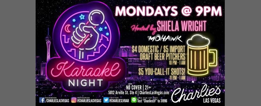 Karaoke with Shiela Wright
