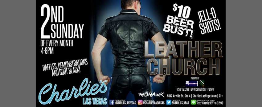 Leather Church at Charlies