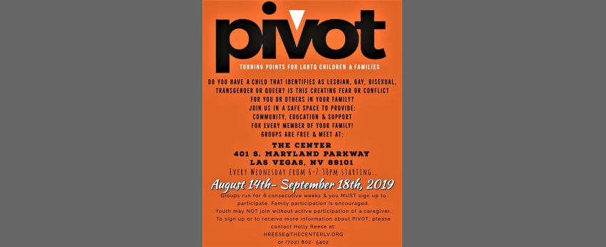 Pivot - Turning Points for LGBTQ Children & Families