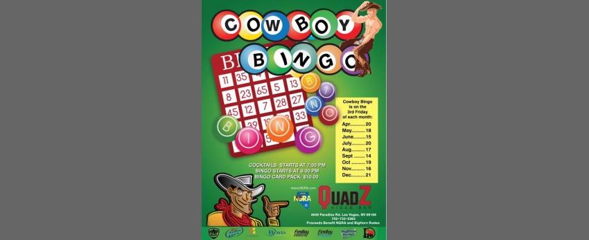 NGRA Cowboy Bingo