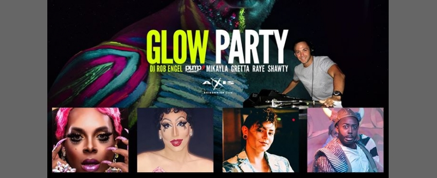 July Glow Party with The Glow Station Drag Painters