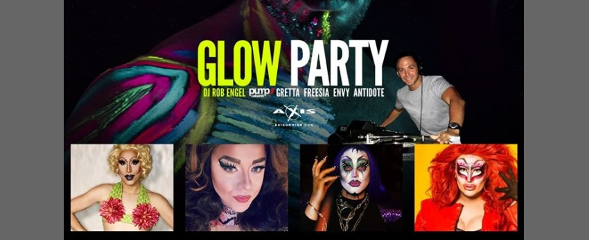 October Glow Party with The Glow Station Drag Painters