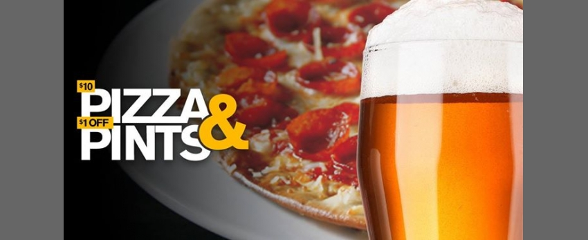 Pizza & Pints Monday