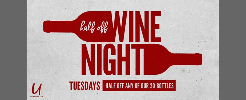 Half Off Wine Night