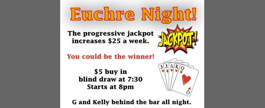 Euchre Night!
