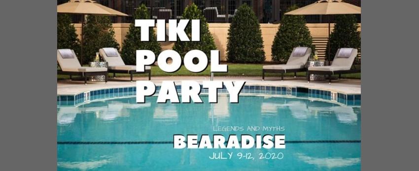Bearadise Tiki Pool Party