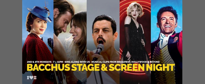Bacchus Stage & Screen Night