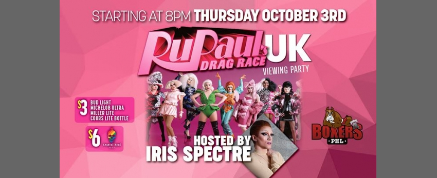 RuPaul's Drag Race UK- Viewing Party