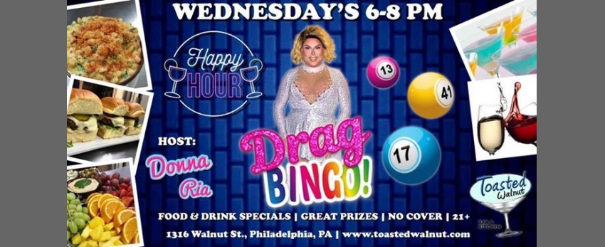 Happy Hour DRAG BINGO