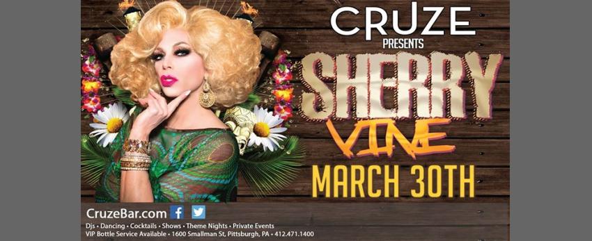 Sherry Vine Invades Pittsburgh