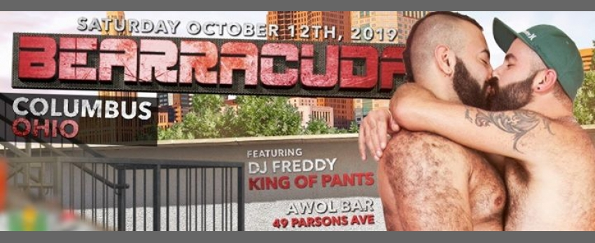 Bearracuda Columbus w/DJ Freddy King of Pants!