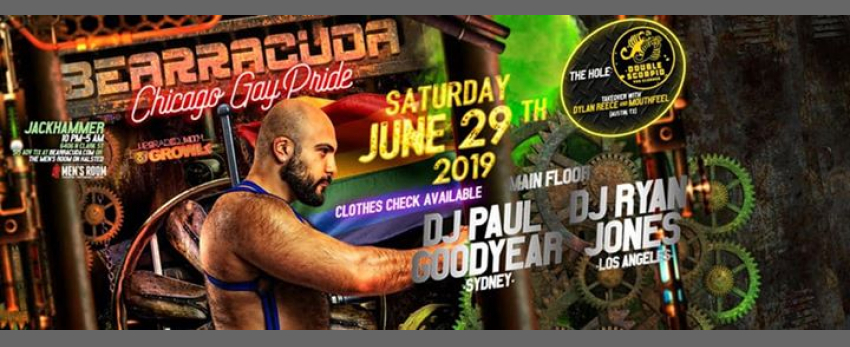 Bearracuda Chicago Gay Pride 2019!