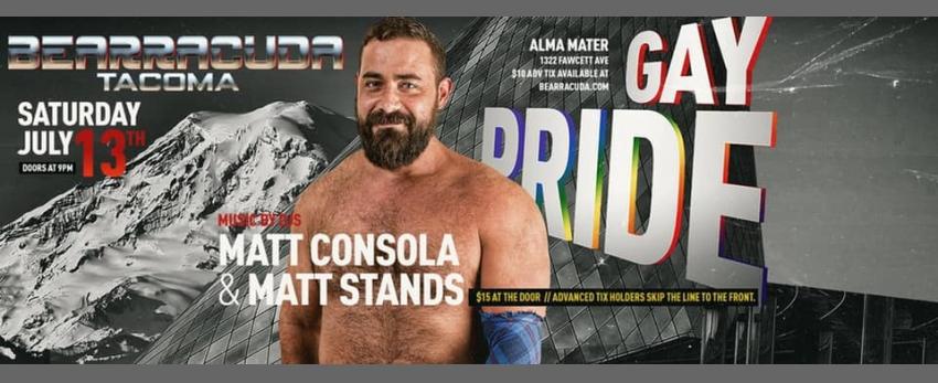 Bearracuda Tacoma Gay Pride 2019!