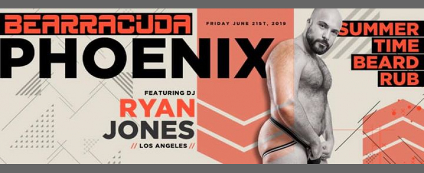 Bearracuda Phoenix Summertime Beard Rub - Friday, June 21st!