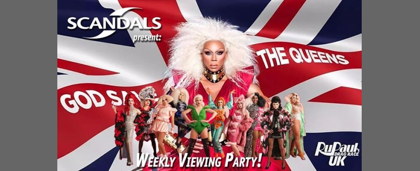 RuPaul's Drag Race UK: Weekly Viewing Party!