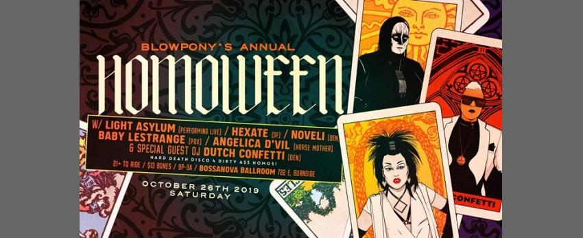 BlowPony's annual HomoWeen 10.26.19