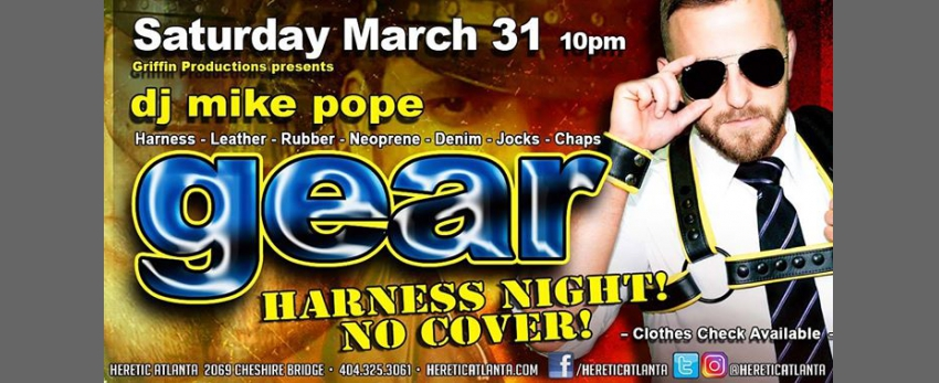 Harness Party No Cover DJ Mike Pope