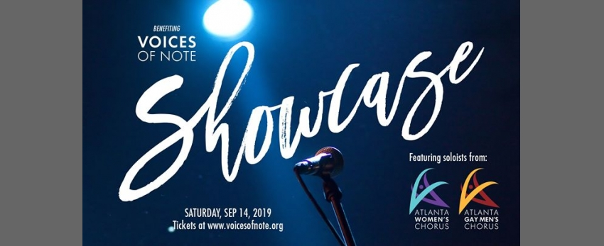Showcase - a cabaret style fundraiser by Voices of Note