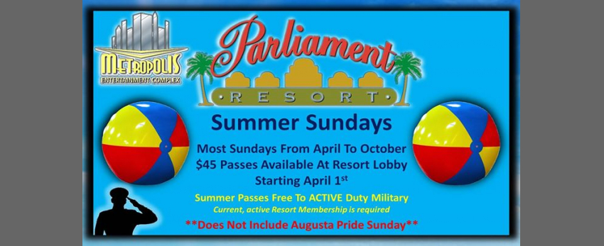 Summer Sundays At Parliament Resort