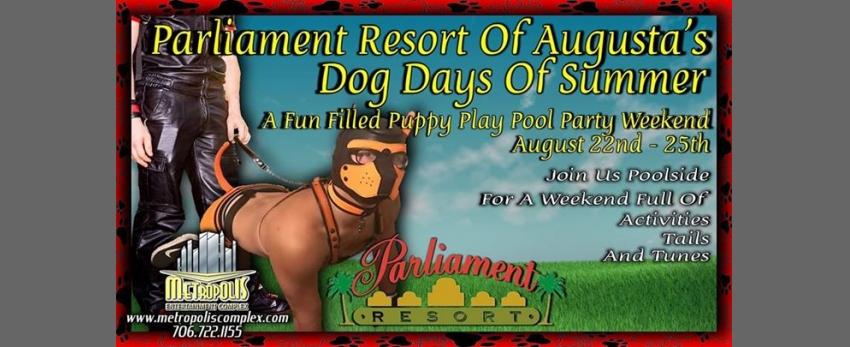 Dog Days Of Summer At Parliament Resort