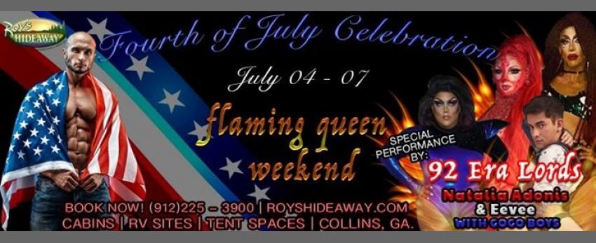 Flaming Queen weekend