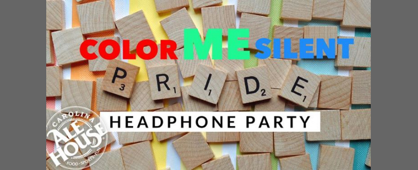 Color ME Silent Headphone Party