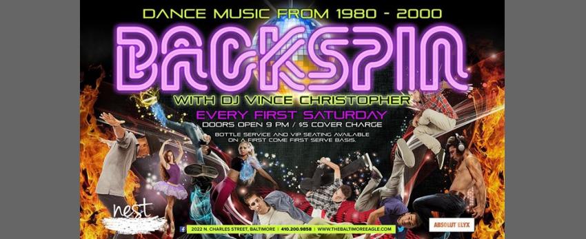 Backspin w/ DJ Vince Christopher