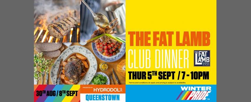 The Fat Lamb Club Dinner