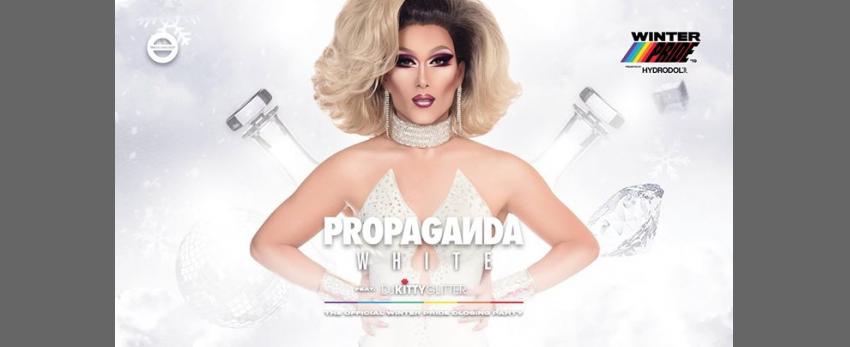 Propaganda White - Winter Pride NZ - SOLD OUT