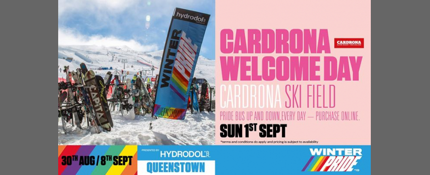 Winter Pride '19 Cardrona Welcome Day