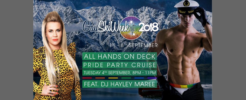 """All Hands on Deck"" Lake Pride Party Cruise"