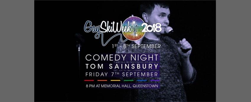 Winter Pride Comedy Night with Tom Sainsbury