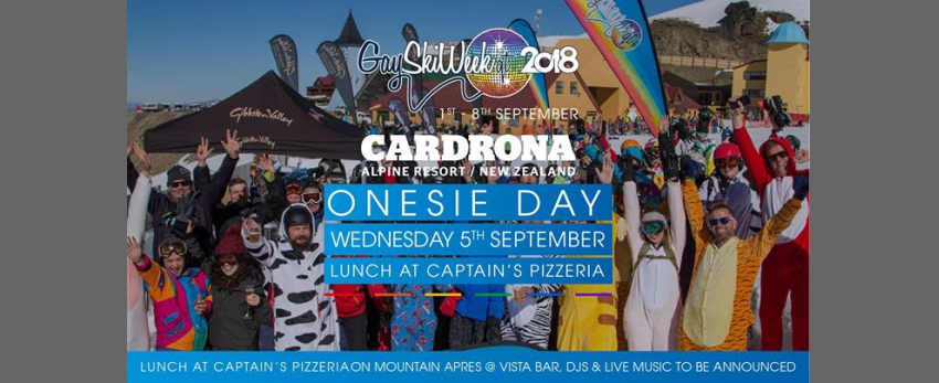 Onesie Day at Cardrona