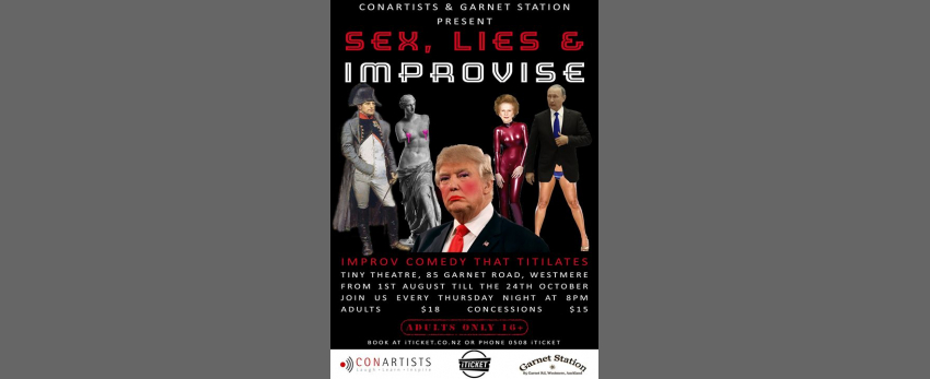 Sex, Lies and Improvise!