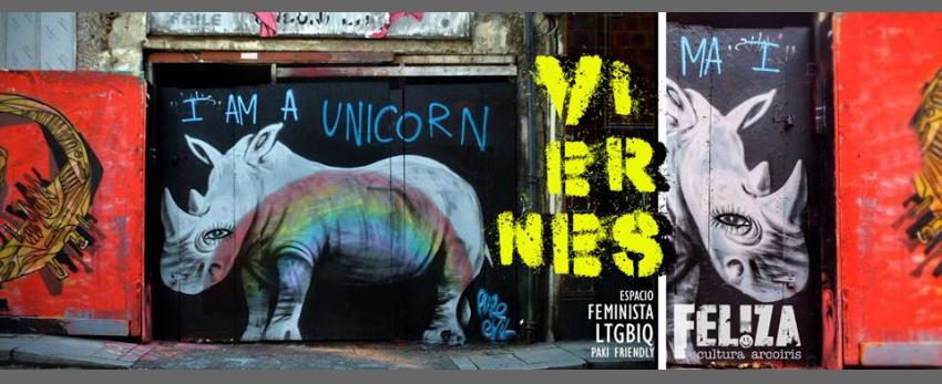 Viernes Unicornix ♡ Noches Queer ♡ Familia LGTBiq+