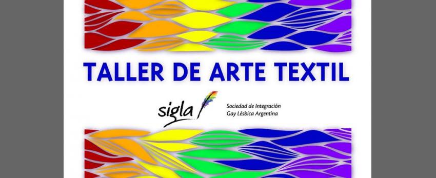 Taller de Arte Textil en SIGLA