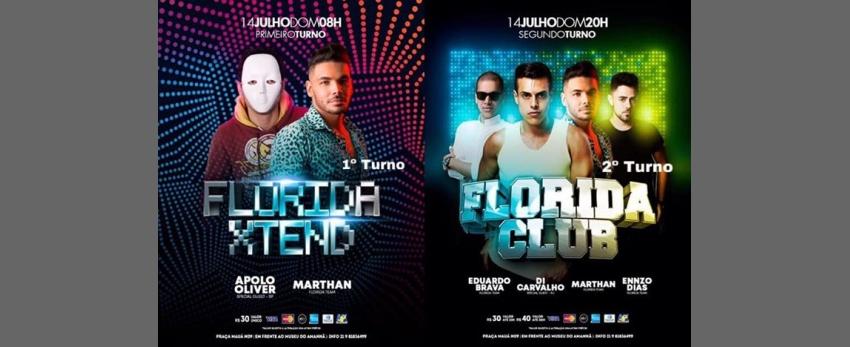 Flórida Club 2 Turnos - 14 De Julho