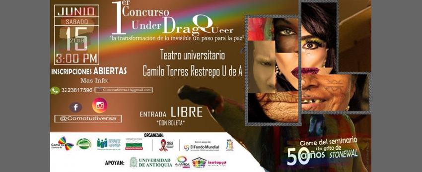 """Primer Concurso """"Under DRAG Queer"""""""