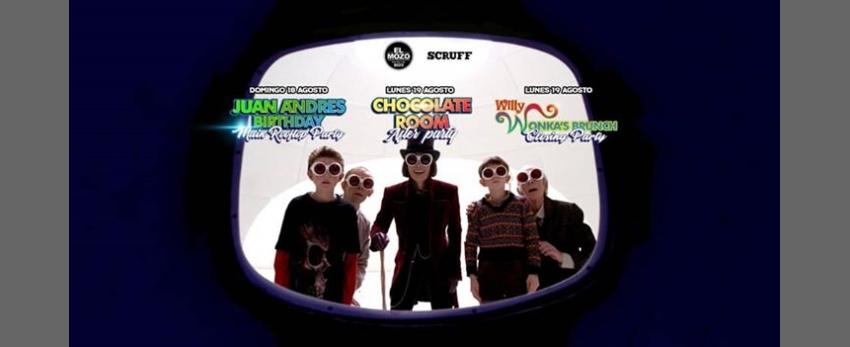 The Willy Wonka experience / Juan Andres Birthday Marathon Party