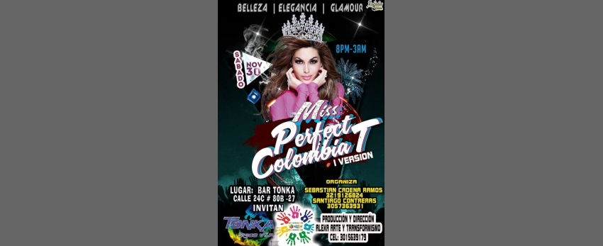 MISS Perfect Colombia T