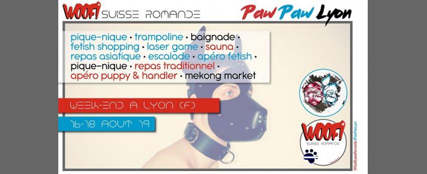 Woof! & Paw Paw à Lyon!