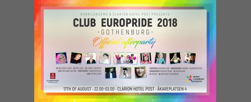 Club EuroPride 2018 Gothenburg